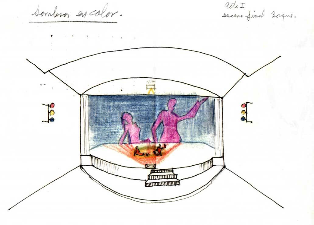 Diseño escenográfico de Juan José Gurrola [foto 03]